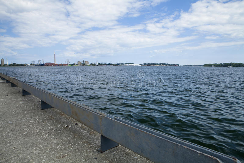 Lago Ontario fotografia stock libera da diritti