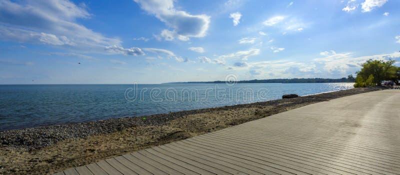 Lago ontario della spiaggia immagini stock libere da diritti