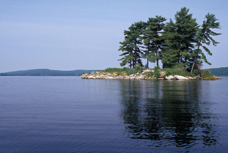 Lago Opeongo imagem de stock