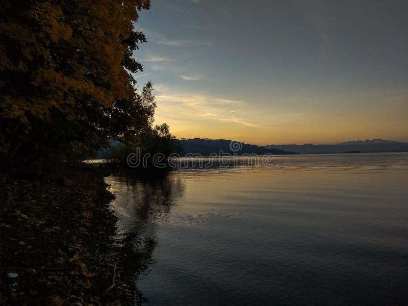 Lago Orava immagini stock