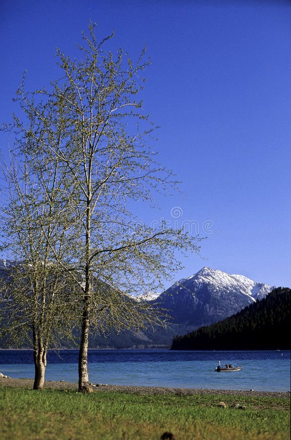 Lago Oregon (S.U.A.) Wallowa immagini stock libere da diritti