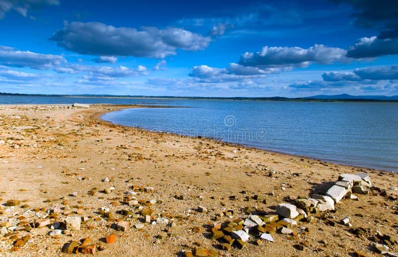 Lago Otmochow, Polonia fotografie stock