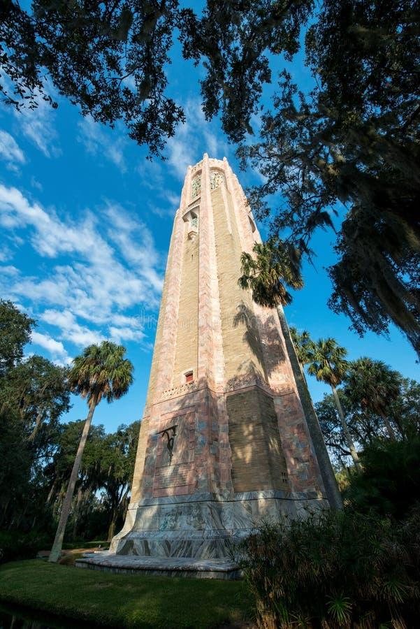 Lago País de Gales la Florida tower de Bok fotos de archivo