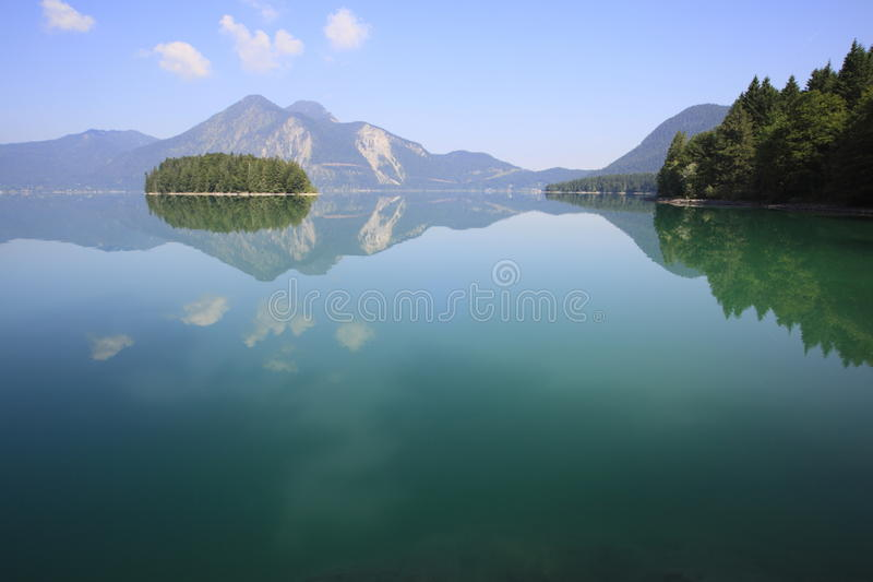 Lago pacifico immagini stock