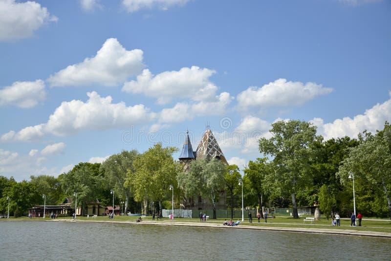 Lago Palic, Sérvia de Subotica fotografia de stock