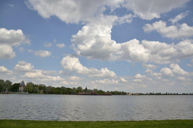 Lago Palic, Sérvia de Subotica foto de stock royalty free