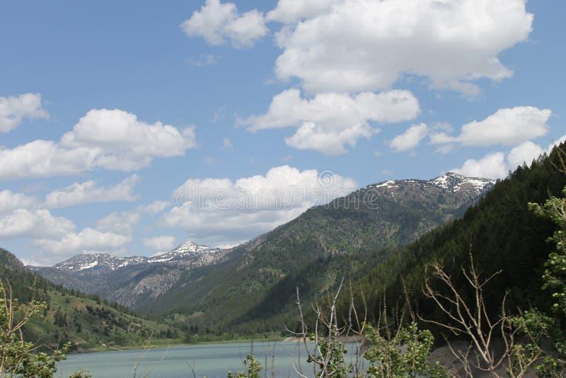 Lago palisades fotos de archivo libres de regalías