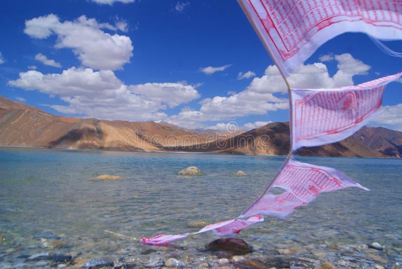 Lago Pangong fotografie stock libere da diritti