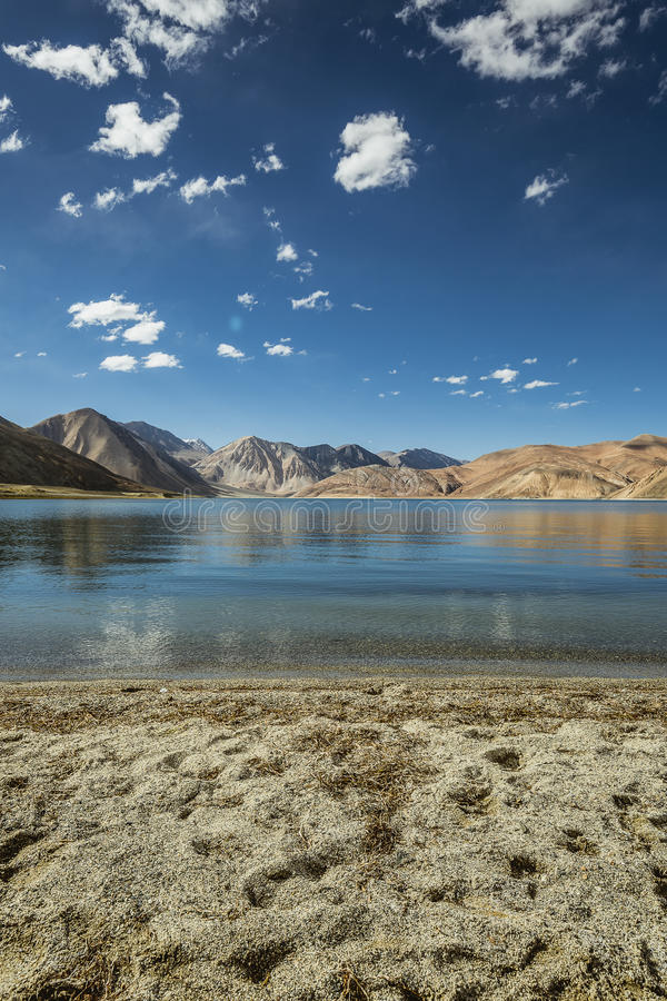 Lago Pangong fotografía de archivo