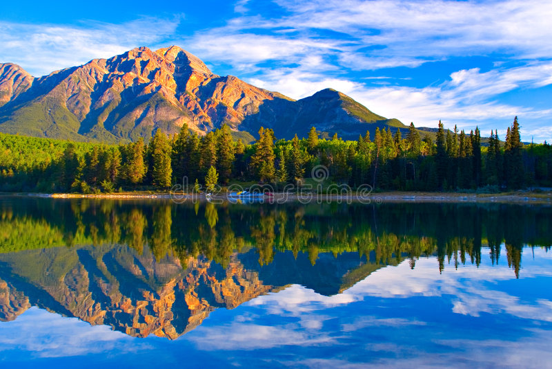 Lago patricia imagem de stock royalty free