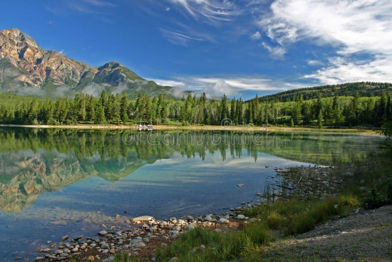 Lago Patricia di mattina immagini stock