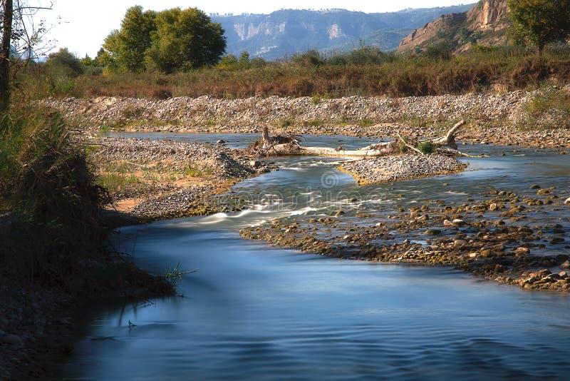Lago Pertusillo fotografia stock libera da diritti