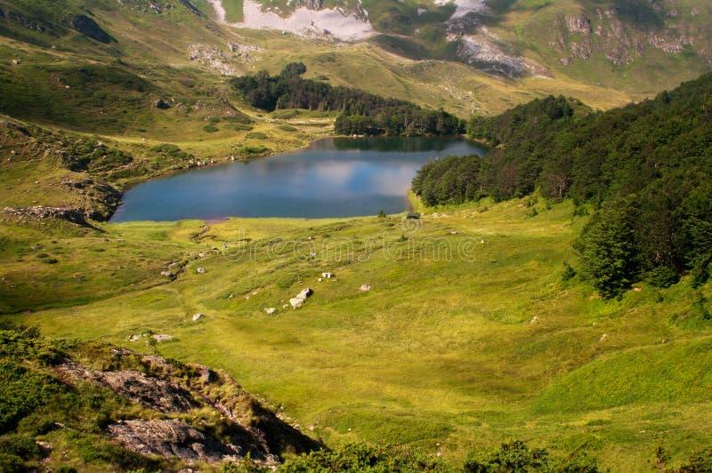Lago Pesica, Montenegro imagem de stock