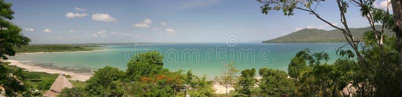 Lago Petén Itza, Guatemala image stock
