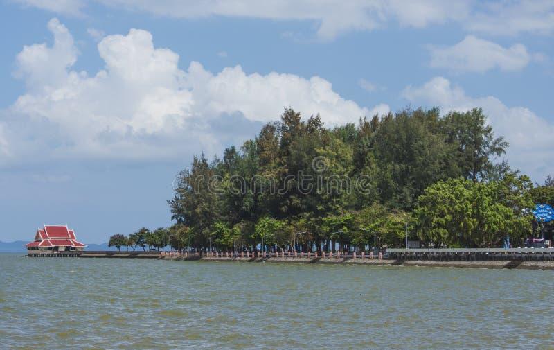 Lago Phatthalung Tailandia Lampam fotografía de archivo libre de regalías
