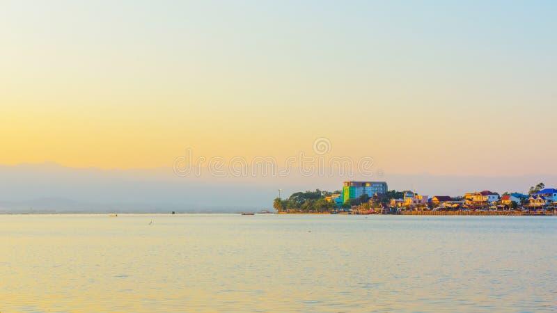 Lago Phayao immagine stock