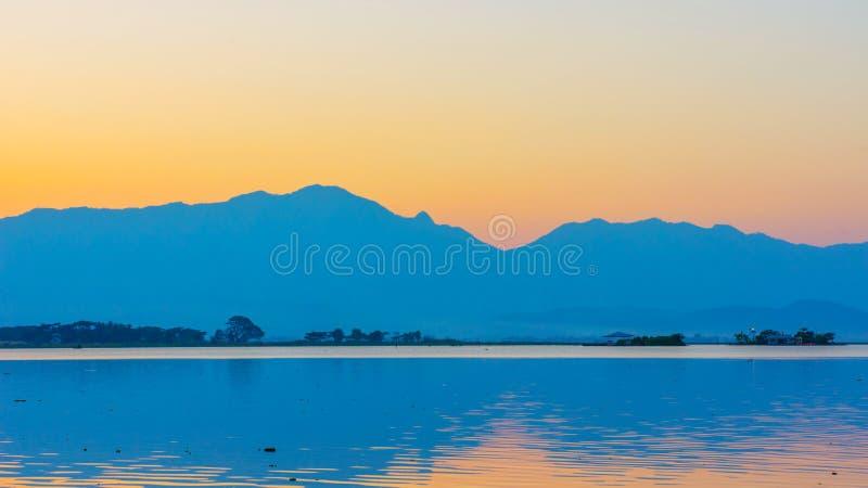 Lago Phayao immagine stock libera da diritti