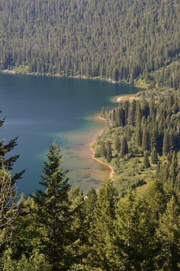 Lago Phelps - Wyoming imagem de stock royalty free