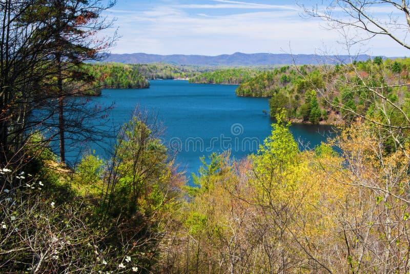 Lago Philpott, Virginia, los E.E.U.U. fotos de archivo libres de regalías