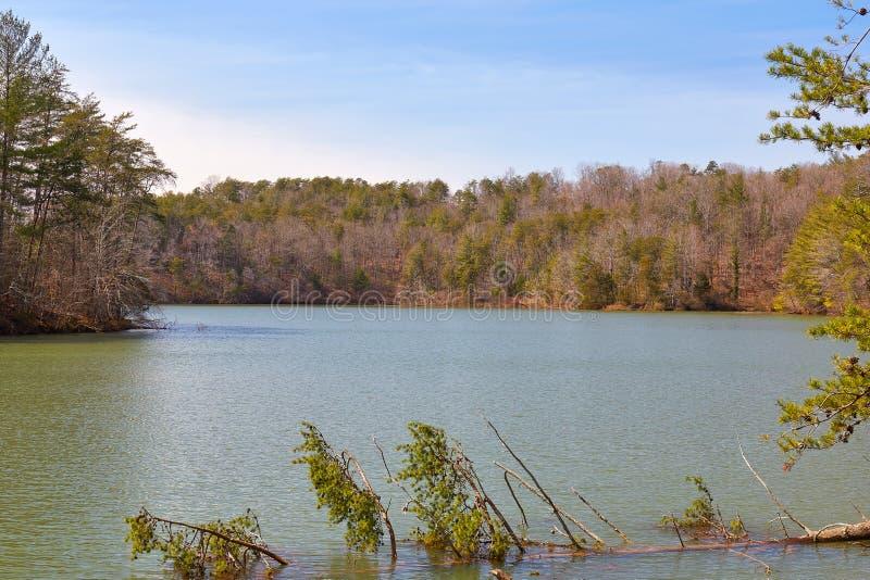 Lago Philpott, Virginia fotografía de archivo