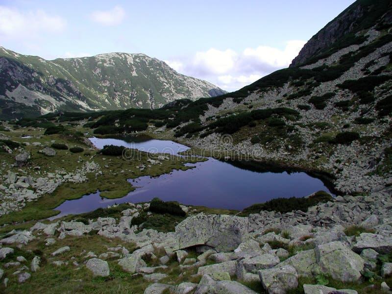 Lago Pietricelele imágenes de archivo libres de regalías