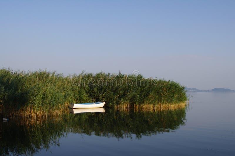 Lago Plattensee Jezero Balaton Hungría Balaton imagen de archivo