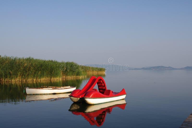 Lago Plattensee Jezero Balaton Hungría Balaton imagen de archivo libre de regalías