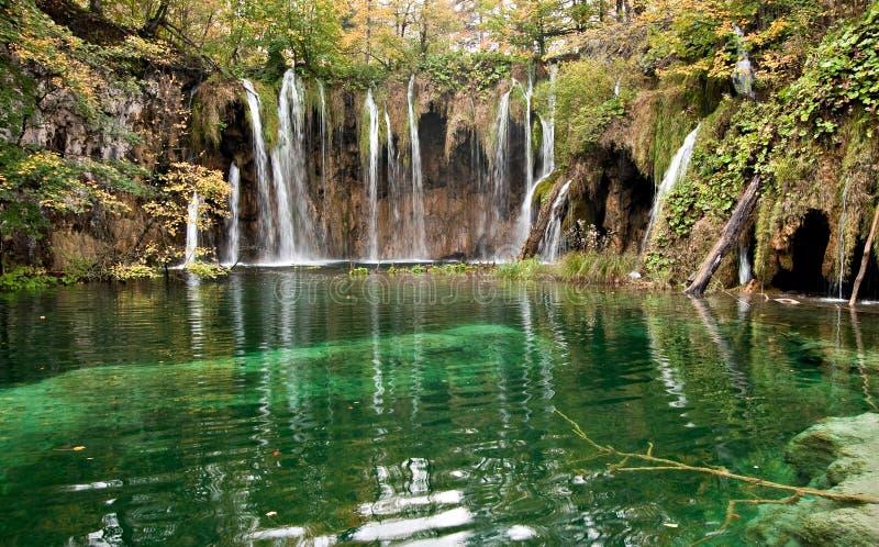 Lago Plitvice foto de archivo