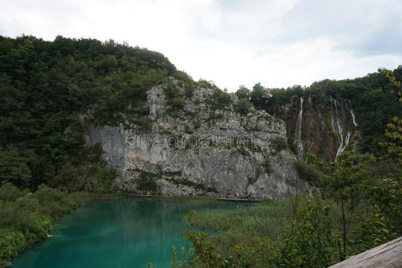 Lago Plitvice mountain en Croacia fotos de archivo libres de regalías