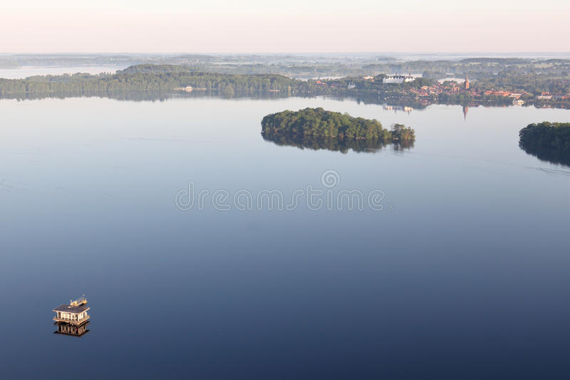 Lago Plon fotografie stock