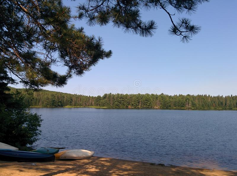 Lago Pog fotografia stock