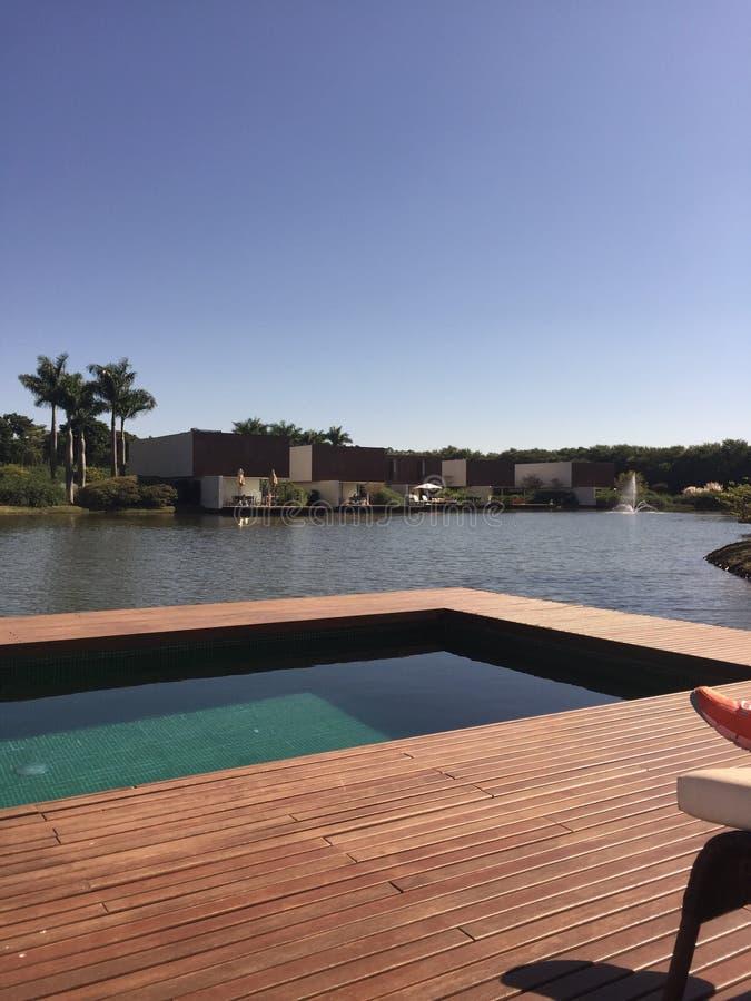 Lago pool fotografia stock libera da diritti