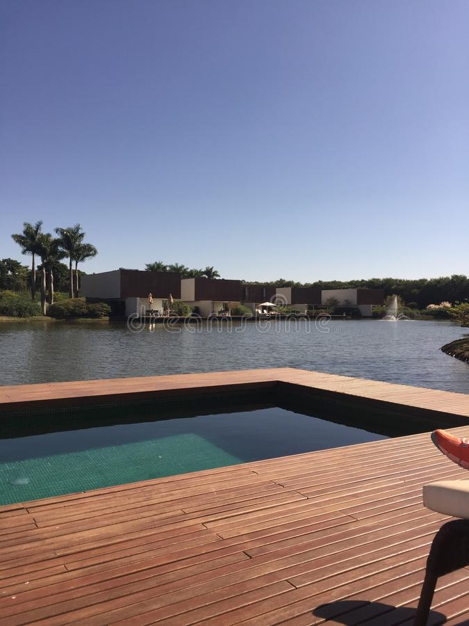 Lago pool fotografia de stock royalty free