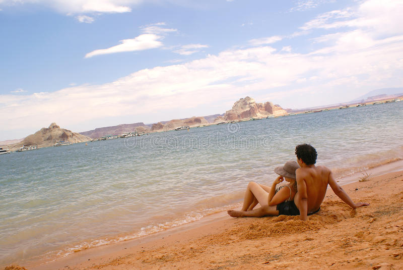 Lago Powell foto de archivo