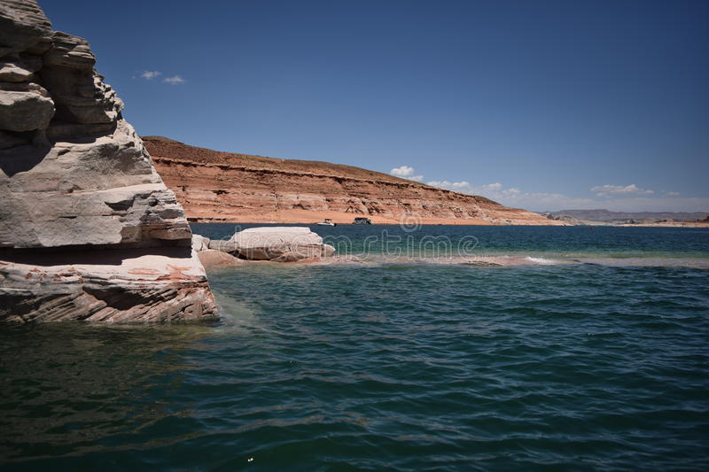 Lago Powell fotos de stock