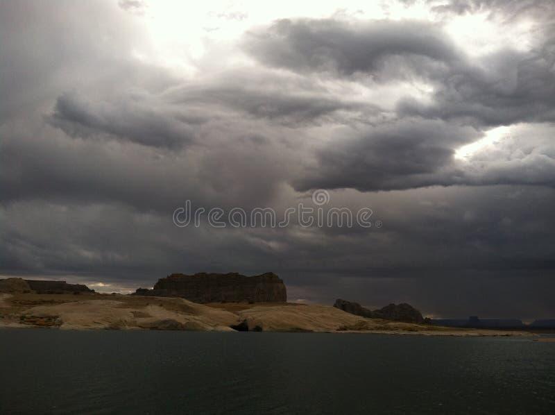 Lago Powell fotografie stock libere da diritti