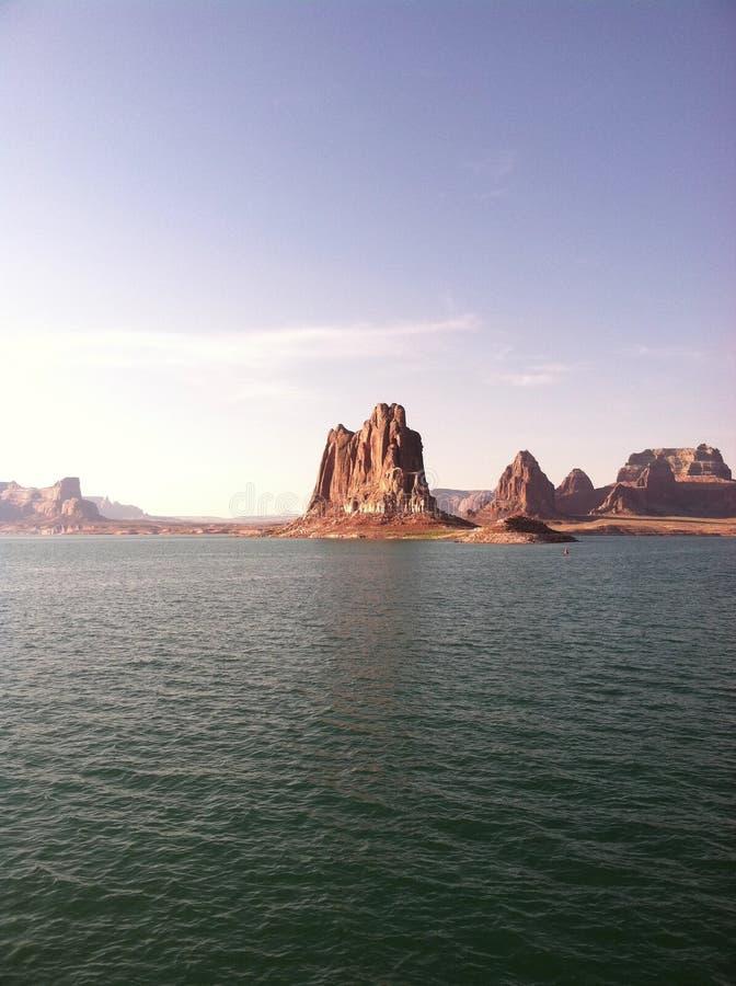 Lago Powell immagini stock libere da diritti