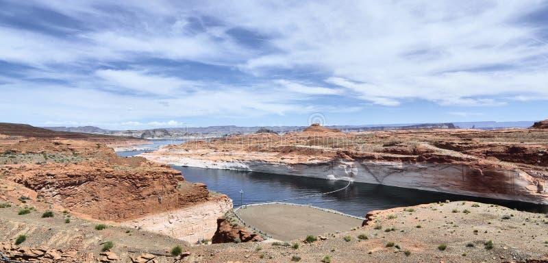 Lago Powell e o Colorado imagem de stock royalty free