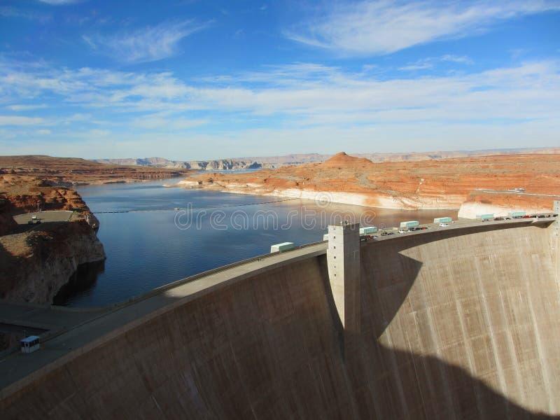 Lago Powell, pagina, Arizona, U.S.A. fotografia stock libera da diritti