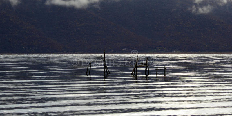 Lago Prespa imagens de stock royalty free