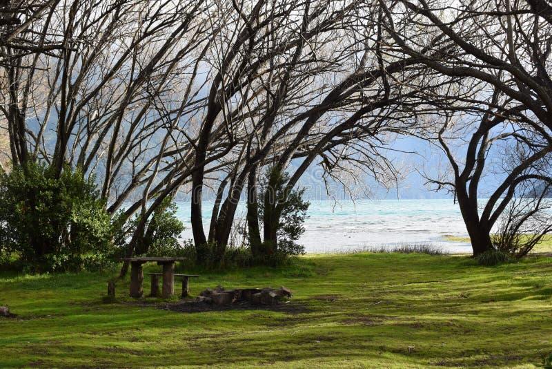 Lago Puelo, Argentine photographie stock