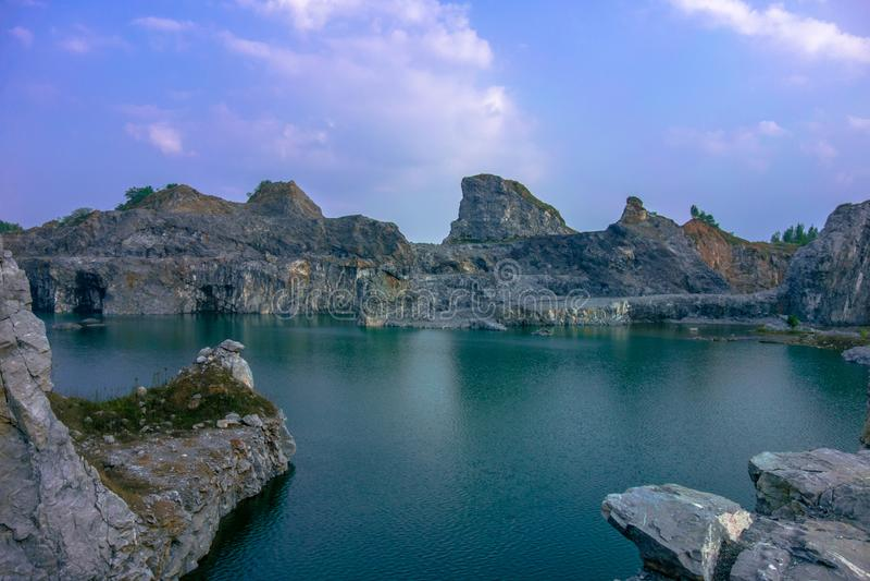 Lago PuGong immagine stock libera da diritti