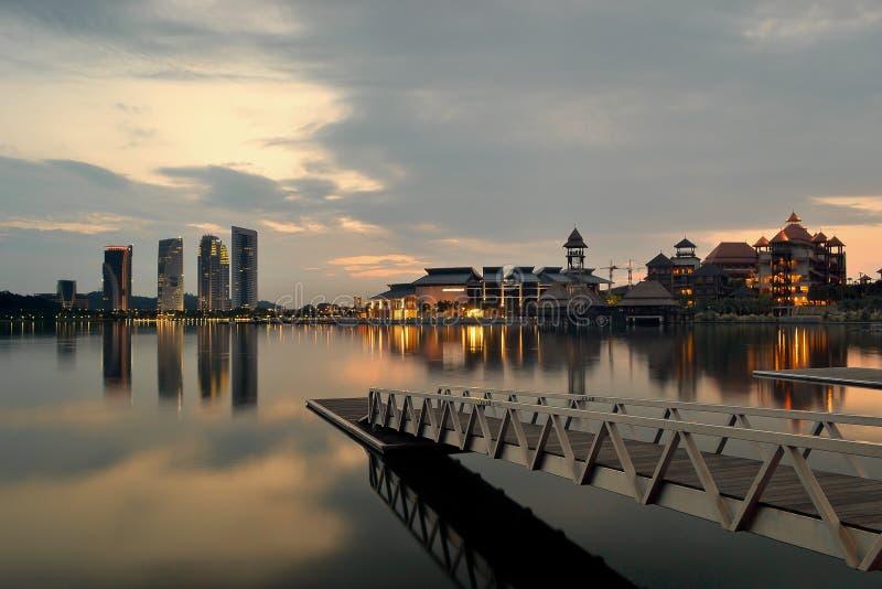 Lago Putrajaya fotografie stock