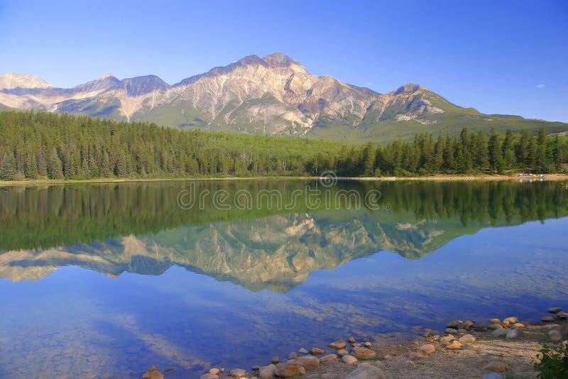 Lago pyramid fotografía de archivo libre de regalías