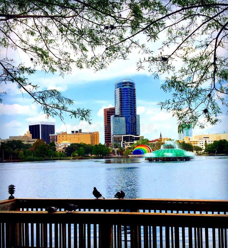 Lago quadro imagem de stock