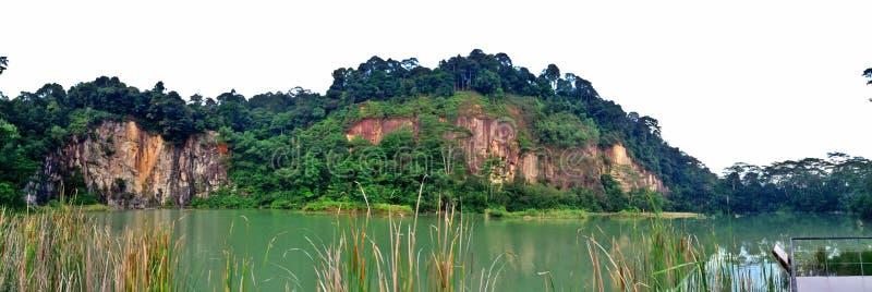 Lago quarry di Singapore immagini stock