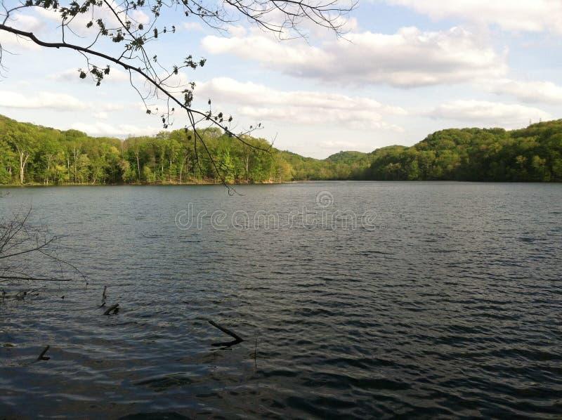 Lago Radnor fotografia stock