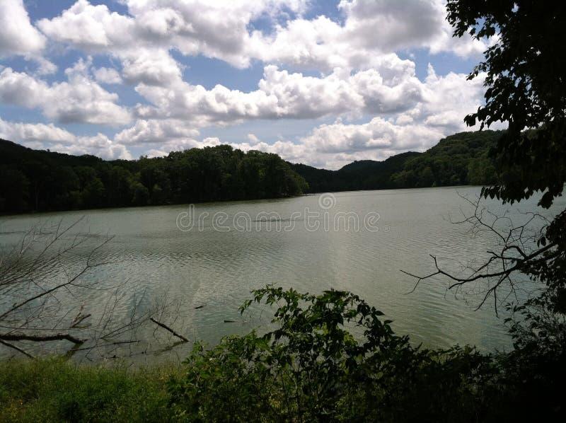 Lago Radnor fotografia stock libera da diritti