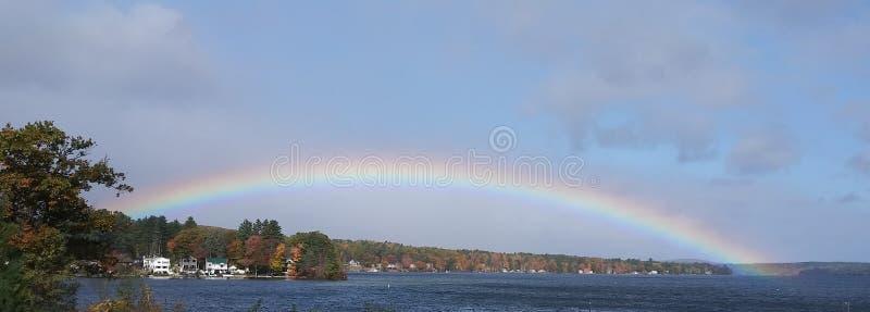Lago Rainbow Winnesquam fotografía de archivo libre de regalías