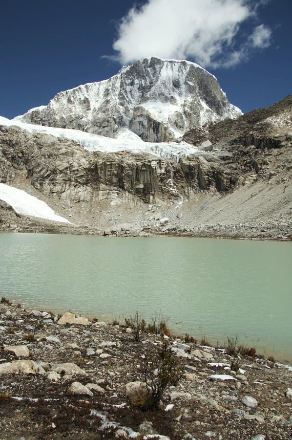 Download Lago Ranrapalka mountain imagen de archivo. Imagen de ambiente - 1296885
